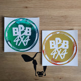BBB4X4 Round Decal - Holographic