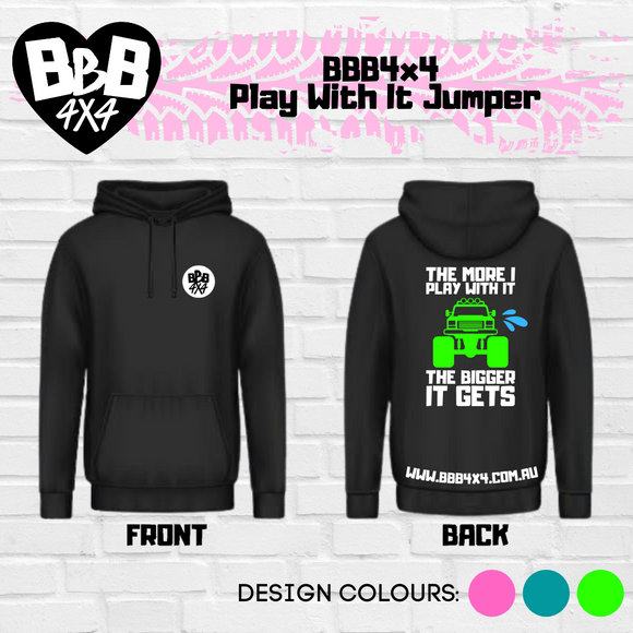 BBB4X4 Fkn Send It | Pink | Pre-Order