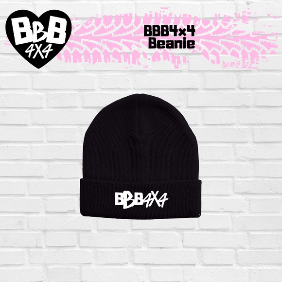 BBB4x4 Embroidered Beanie | Pre-Order | Limited Stock