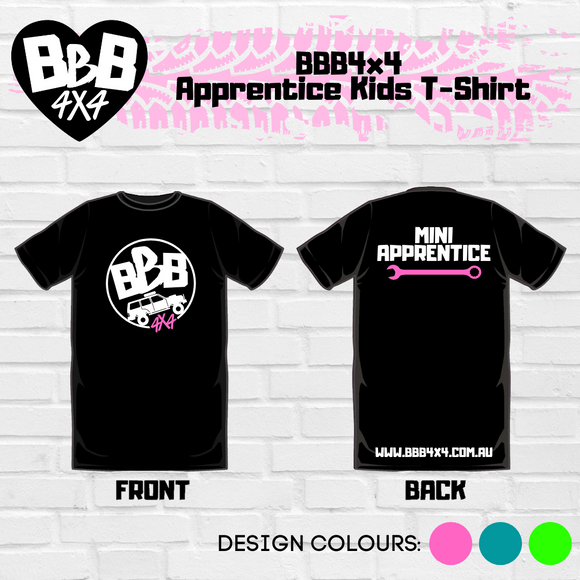 BBB4X4 Apprentice Kids Shirt