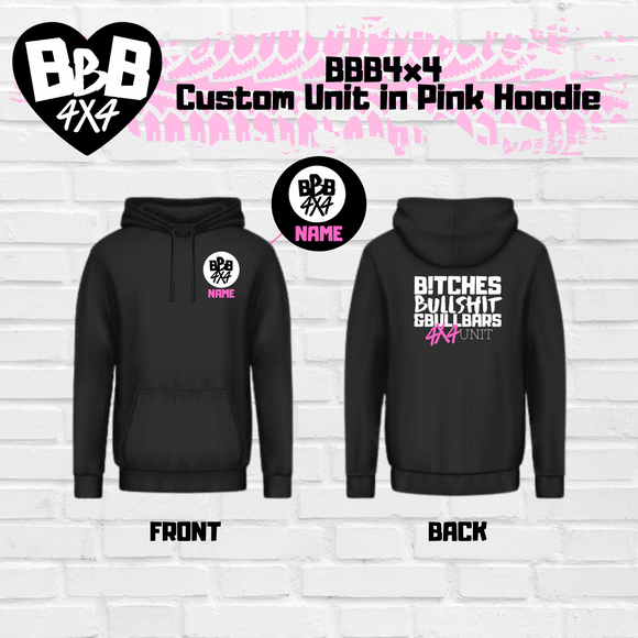 BBB4X4 Unit Custom Jumper | Pink