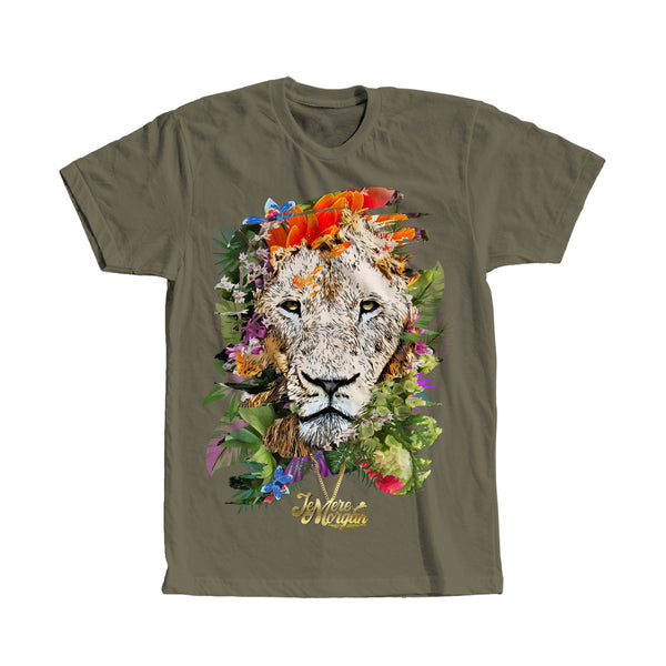 Jemere Morgan - Floral Lion Tee