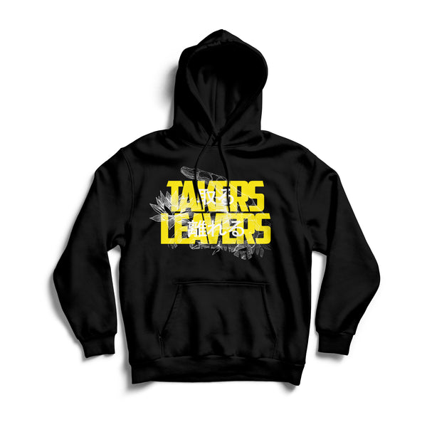 Takers Leavers - Kanji Black Hoodie