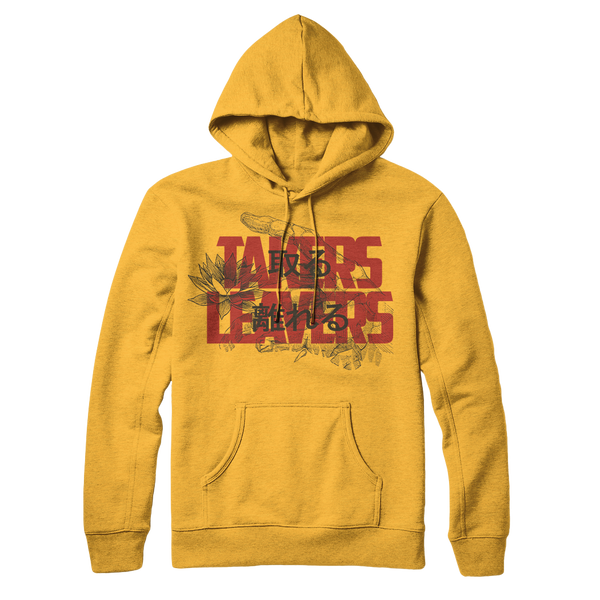 Takers Leavers - Kanji Gold Hoodie