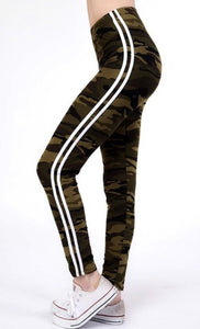 CAMOUFLAGE QUEEN SIZE LEGGINGS