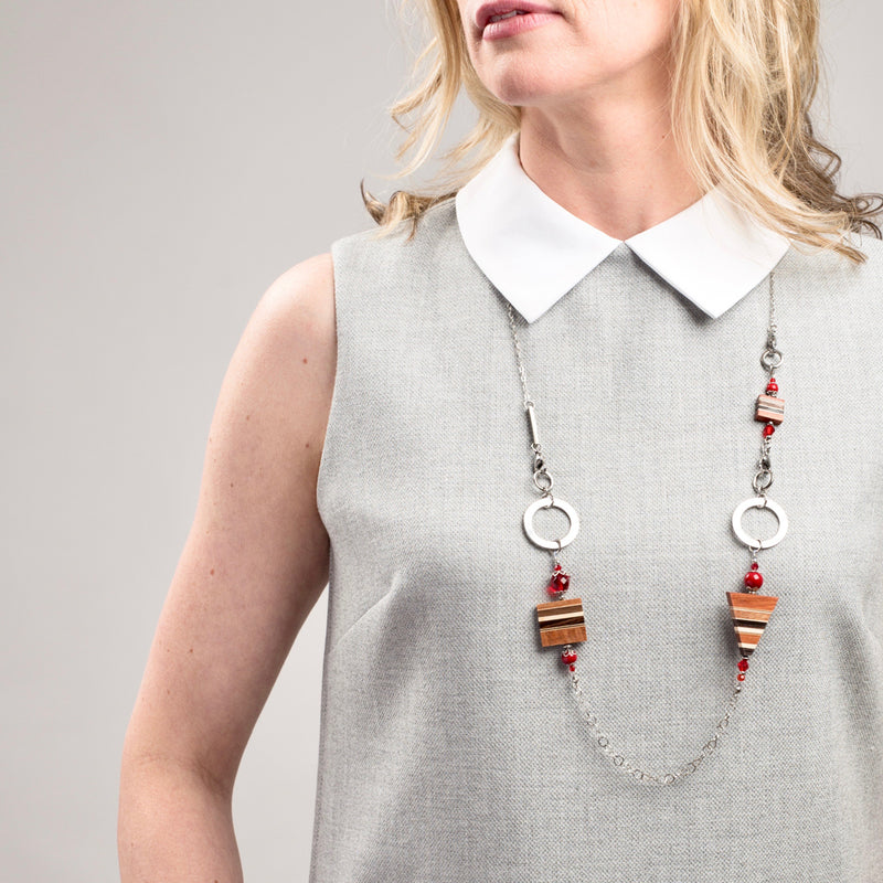 collier modifiable en bois isabelle ferland