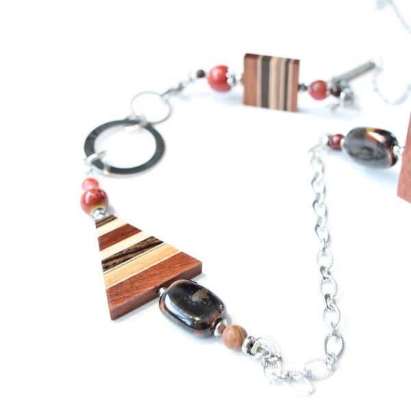 Collier modifiable fait main - Isabelle_Ferland_bijoux