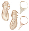 Sparkle & Shine interchangeable sandal set