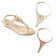 Champagne Wedge Set