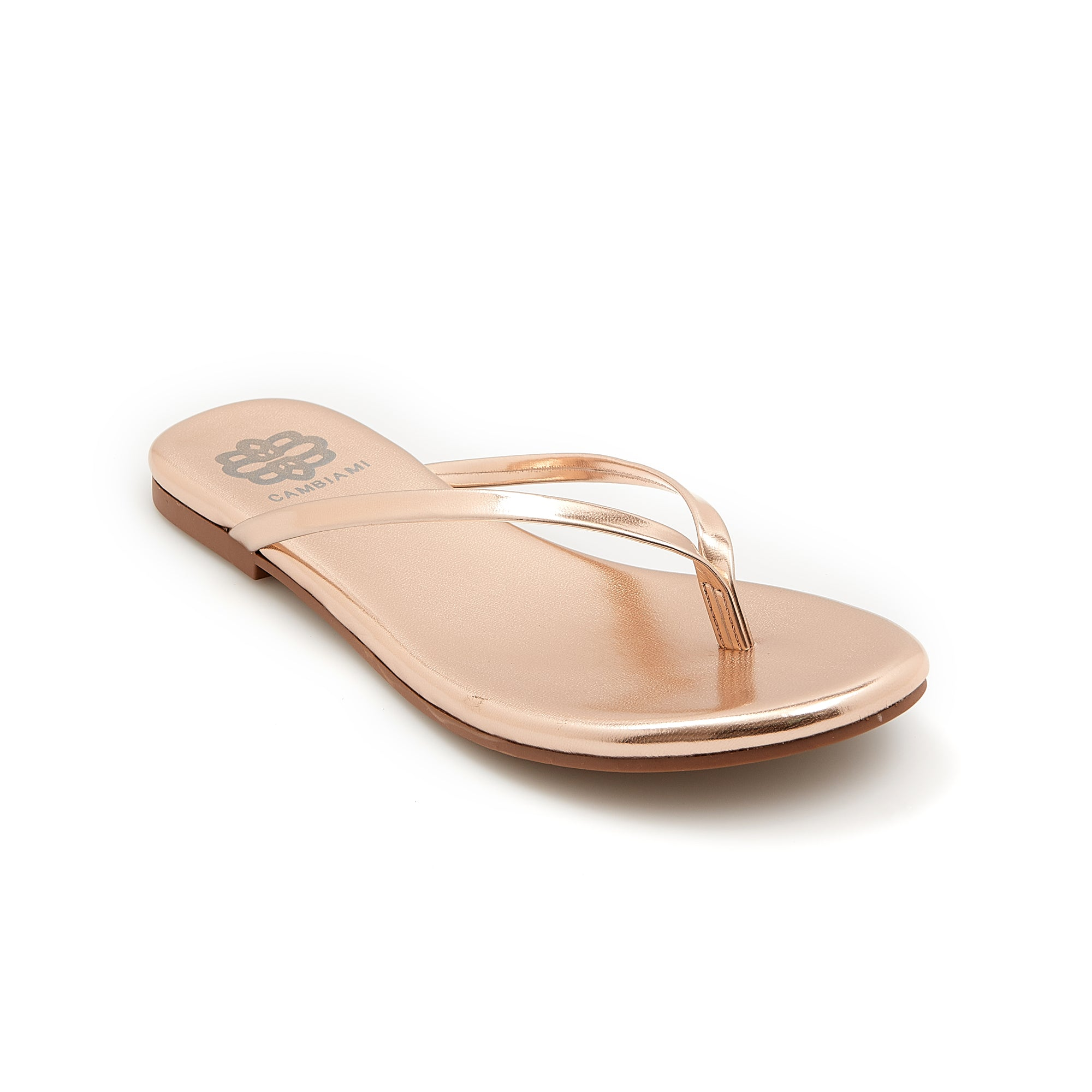 Rose Gold Flip Flop - Cambiami