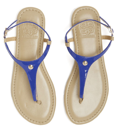 Royal Blue Interchangeable sandal straps