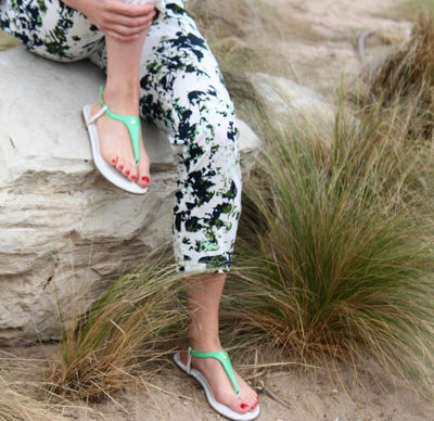 Kelly Green Interchangeable sandal straps
