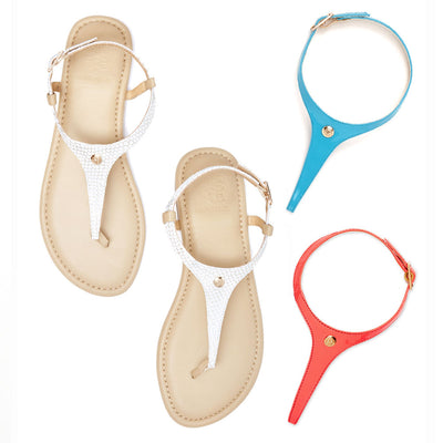 Beach Please Interchangeable sandal set