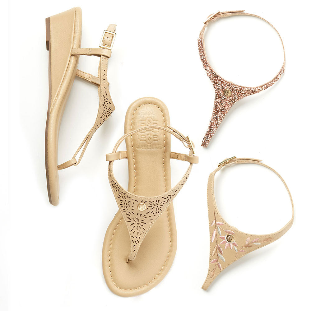 Tan Wedge Set