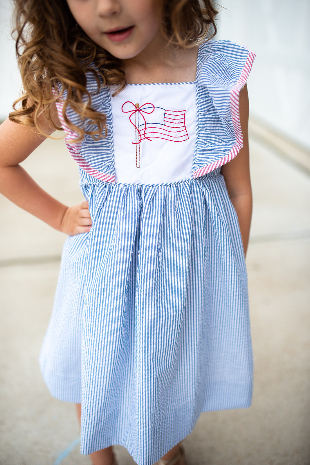 Patriotic Pop Up! Dress