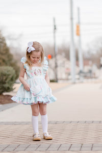 Floral Cottontail Dress