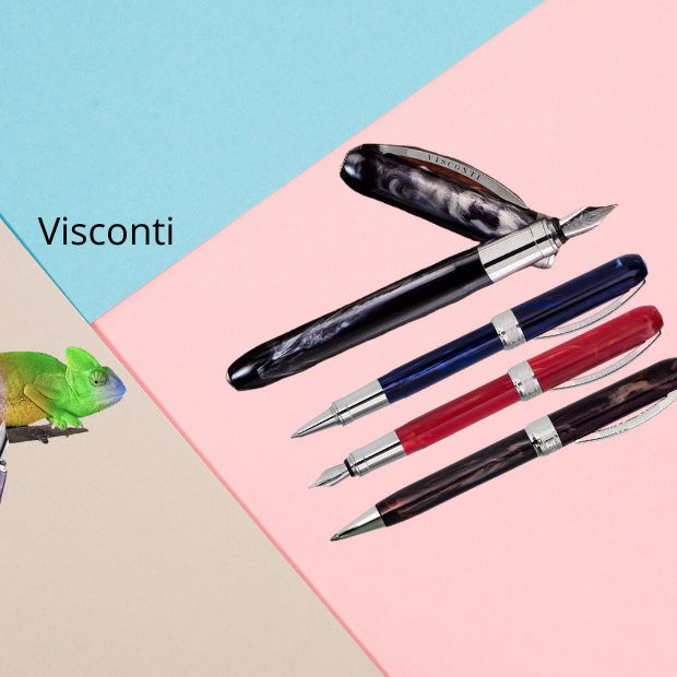 Visconti Fountain Pens in Canada. Van Gogh and Rembrandt Fountain pens
