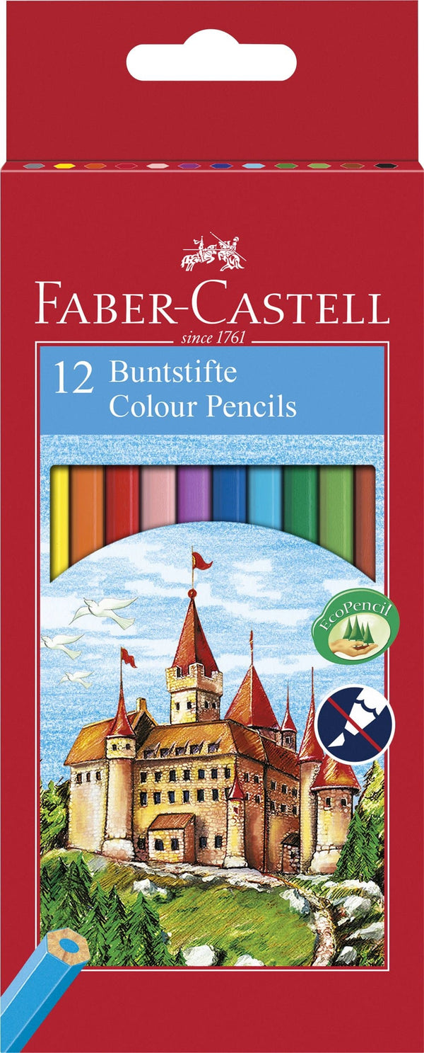 Castle Colour EcoPencils - Box of 12 - Blesket Canada