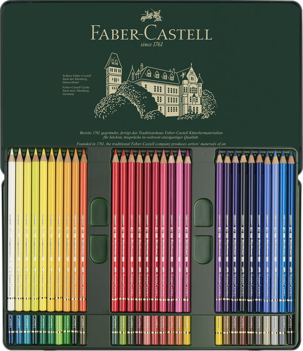 Polychromos Artists' Pencils - Tin of 60 Pencils - Blesket Canada