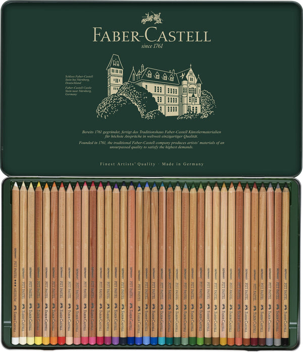 Colour Pencil Pitt Pastel Tin of 36 - Blesket Canada