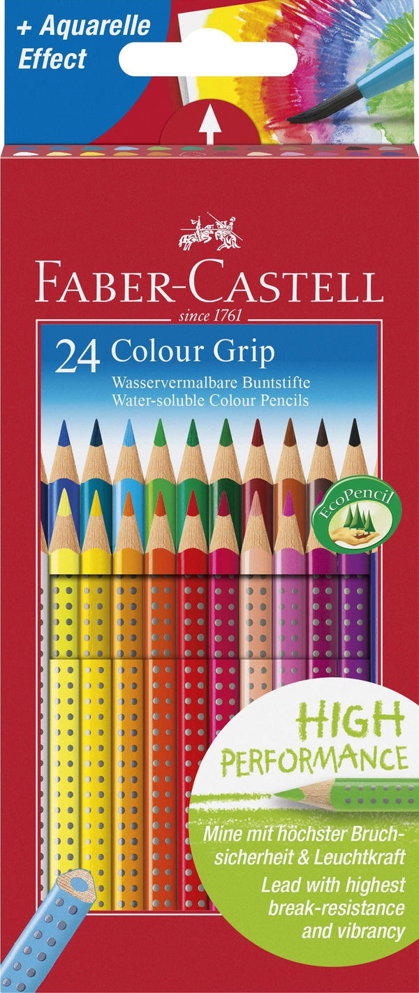 Grip 2001 Colour Pencil Box of 24 - Blesket Canada