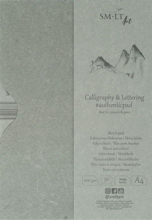 Calligraphy & Lettering Sketch Pad - Blesket Canada