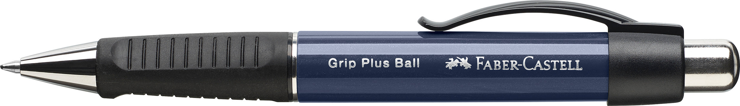 Faber-castell Grip Plus Ballpoint Pen navy blue