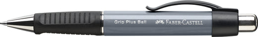 Faber-castell Grip Plus Ballpoint Pen stoney grey