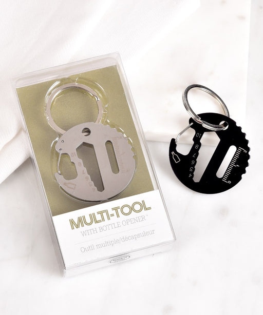 Multi-tool Keychain with Bottle Opener/Carabiner - Blesket Canada