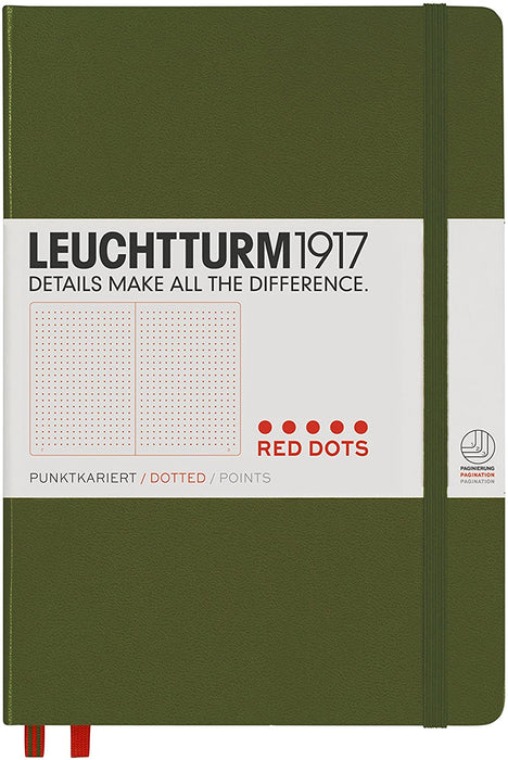 Red Dots Notebook Medium (A5) Hardcover Special Edition - Blesket Canada