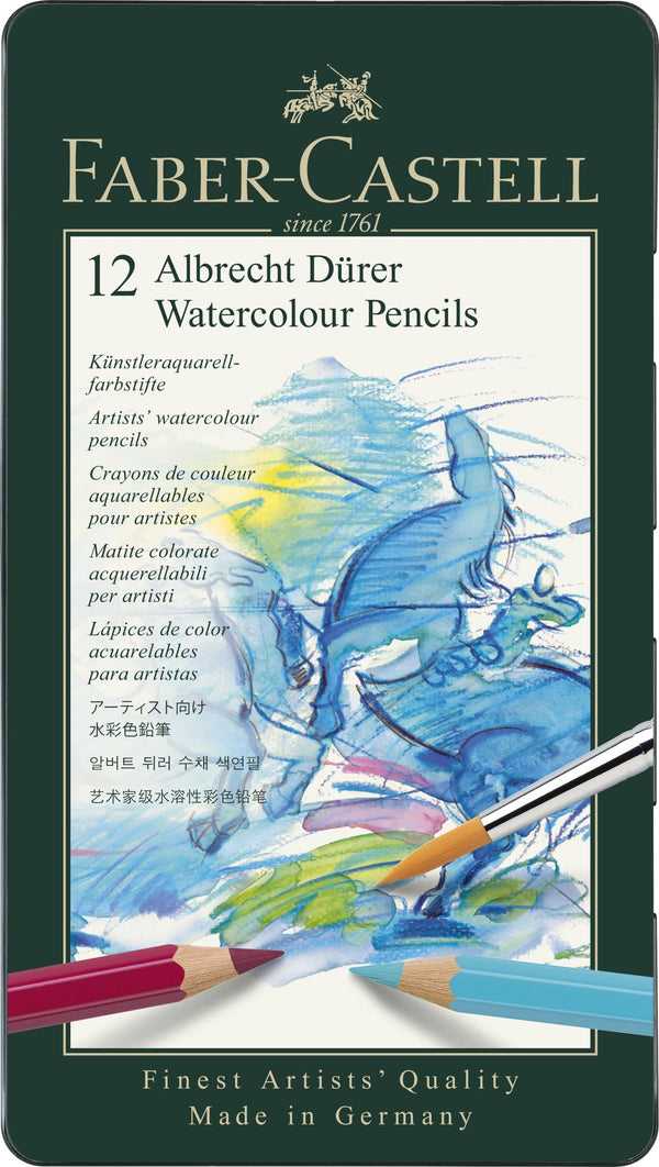 Watercolour pencil Albrecht Dürer Tin of 12