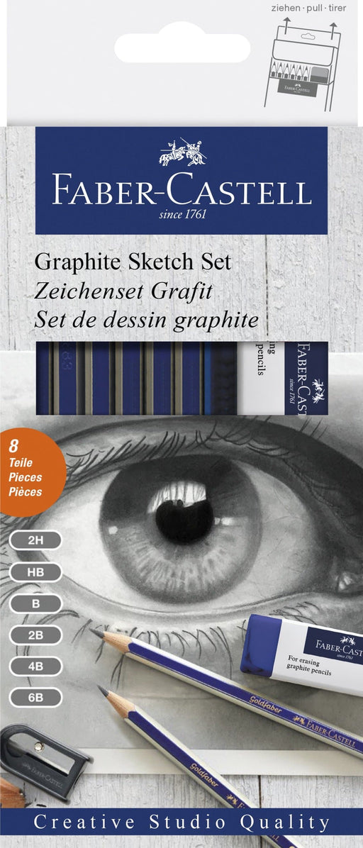Goldfaber Graphite Sketch Set- Blesket Canada