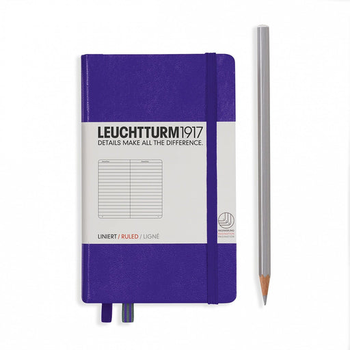 LEUCHTTURM1917 NOTEBOOK POCKET (A6) HARDCOVER, RULED. - Blesket Canada
