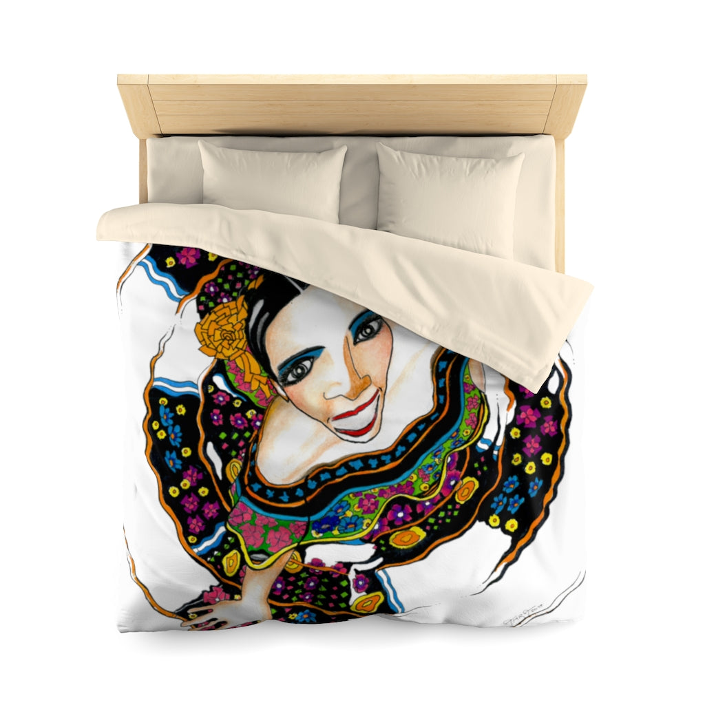 "Limited Addition Microfiber Duvet Cover by ""Amra Metic"""