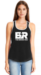 WOMEN'S TANK - BLACK FRONT/WHITE BACK