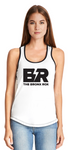WOMEN'S TANK - WHITE FRONT/BLACK BACK