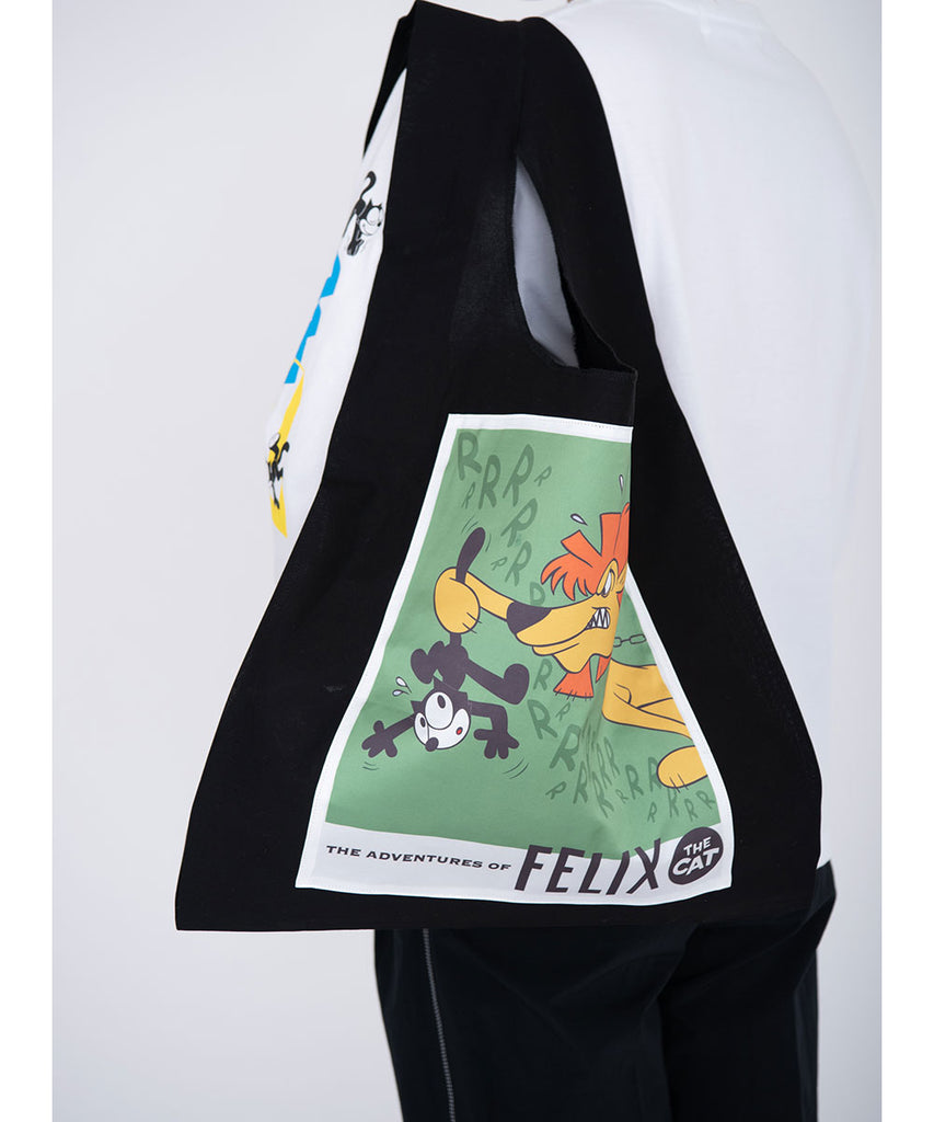 Felix cut and paste eco bag