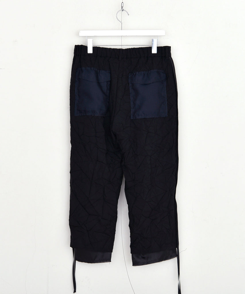 Wrinkle proof pants[サンプル品]