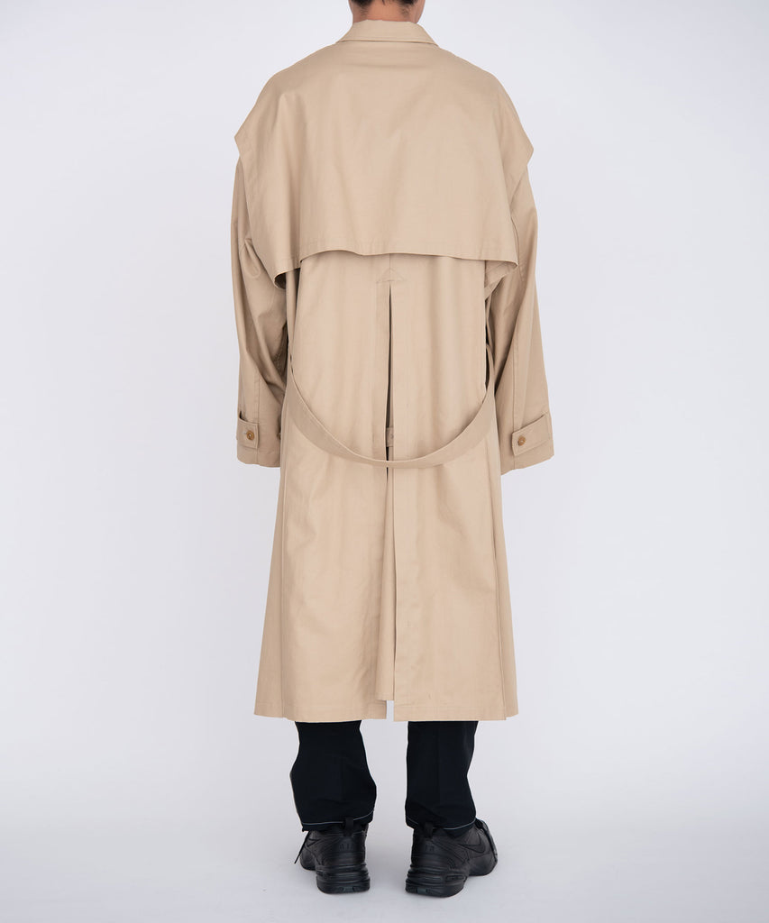 Trench jacket coat