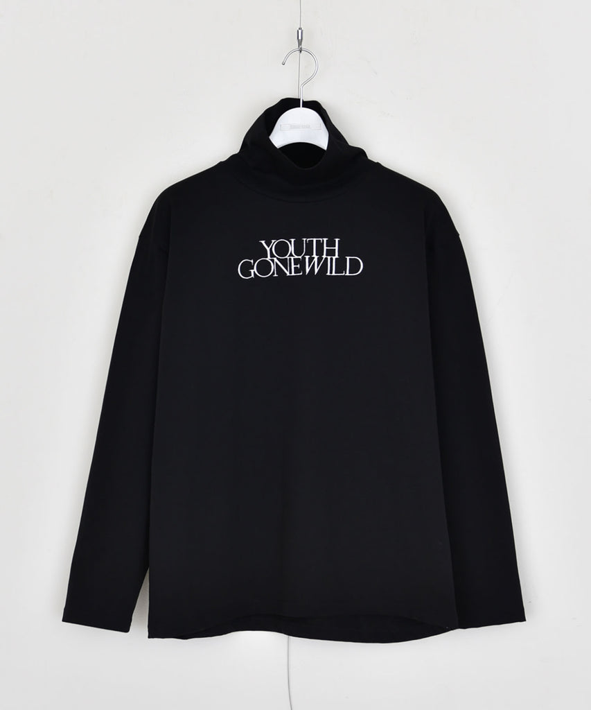 """YOUTH GONE WILD"" Highneck cutsewn"