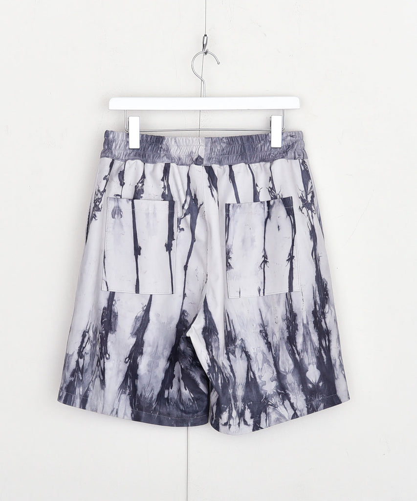 Tie dye leather shorts[サンプル品]