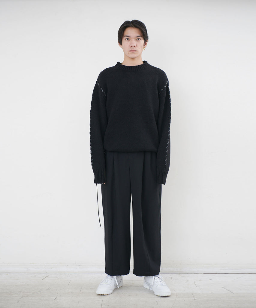 Looping knit