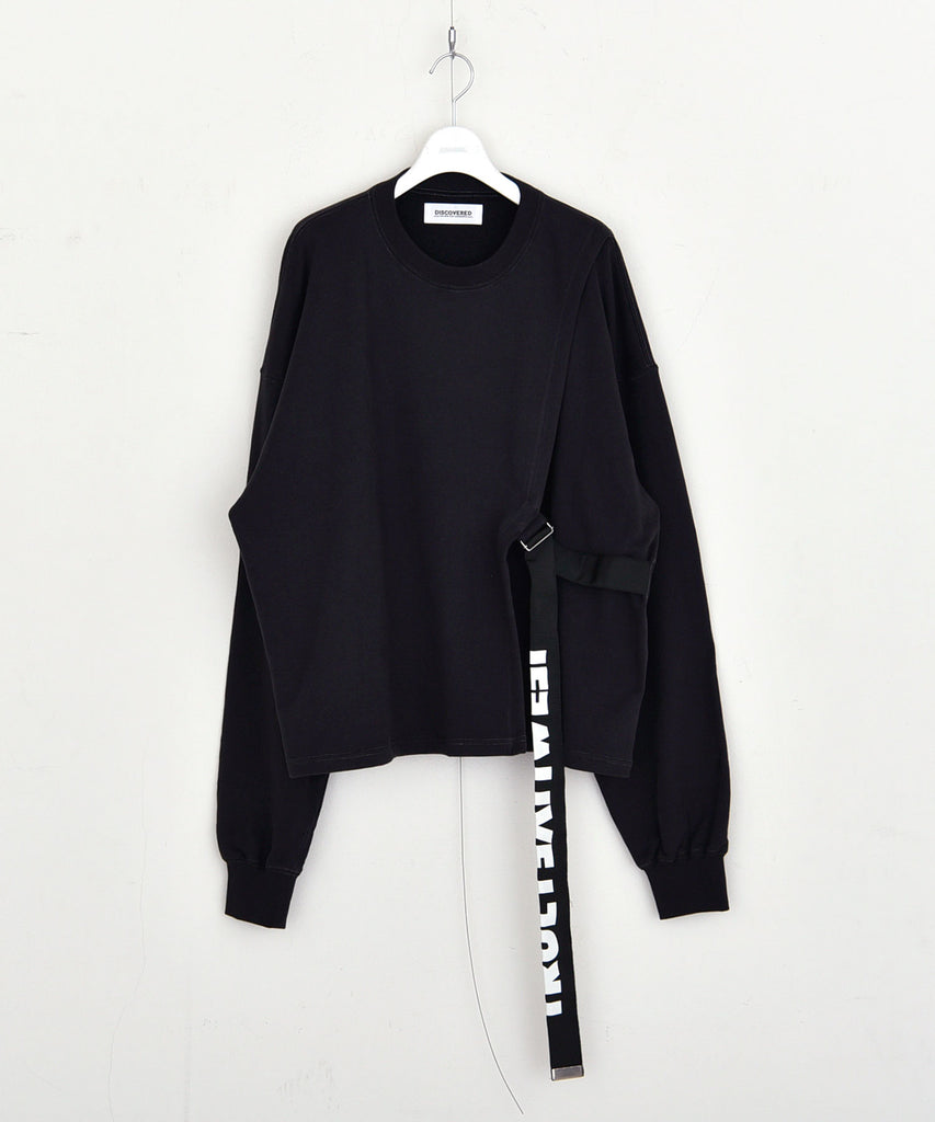 Belt sweat shirt