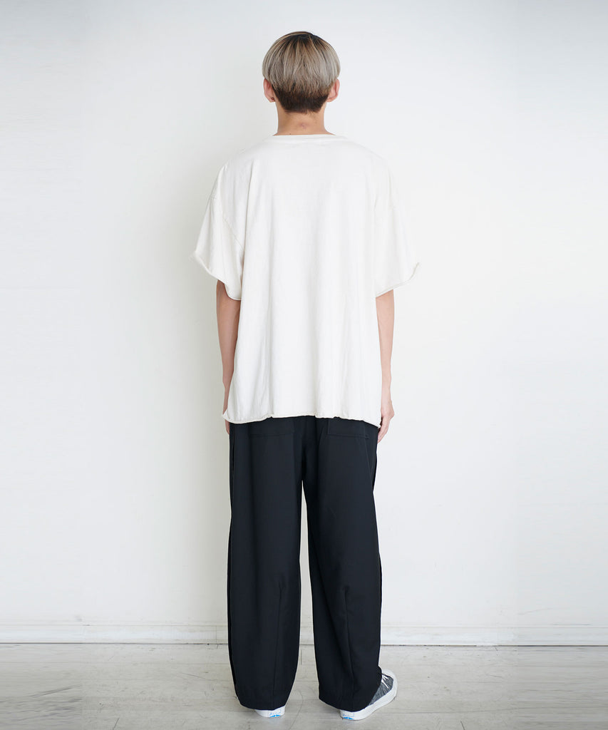 予約商品|Over Dye One point Tee
