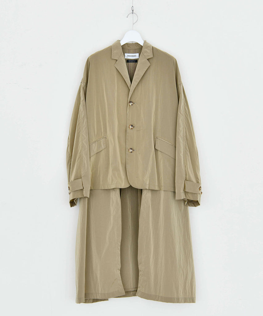 予約商品|Limonta Vintage Nylon Trench Jacket Coat