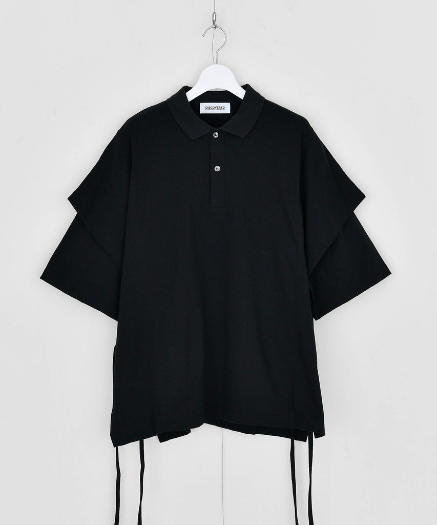 予約商品|Basque Jersey Polo Layered  Shirt