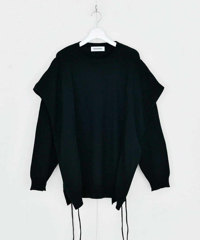 予約商品|Combed yarn Cotton Layered Knit