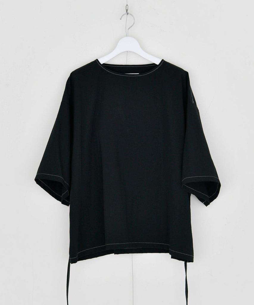 予約商品|Spondish Nylon White Stitch Pullover
