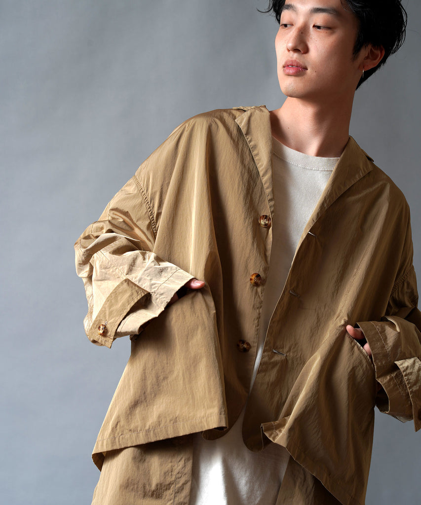 Limonta Vintage Nylon Trench Jacket Coat