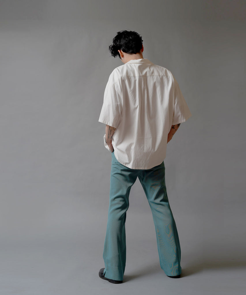 Tencel Cotton Twill Bio Open Collar Shirts